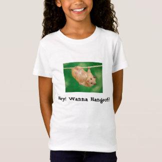 T-Shirt Funny_Hamster, hé ! Voulez au repaire ?