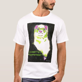 T-shirt Furet cosmique