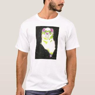 T-shirt Furet cosmique (une plus petite image sans texte)