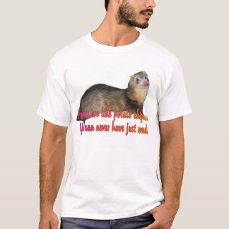 T-shirt Furet de pommes chips