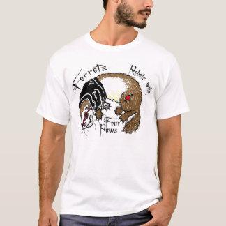 T-shirt Furets : Rebelles avec quatre pattes