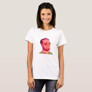 T-shirt Fusée rouge