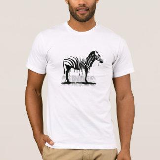 T-shirt Fusion de zèbre