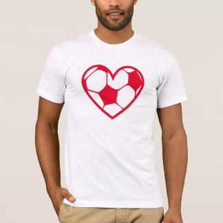 T-shirt fussball_heart_2f