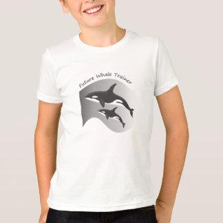 T-shirt Futur entraîneur de baleine