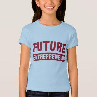 T-shirt Futur entrepreneur, esprit d'entreprise