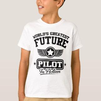 T-shirt Futur pilote dans l'action