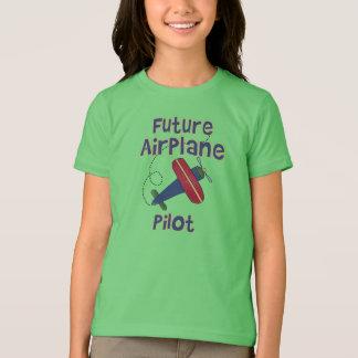 T-shirt Futur pilote d'avion