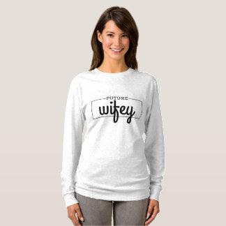 T-shirt Future jeune mariée de Wifey à avoir lieu avec la