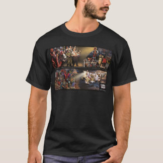 T-shirt Futures peinture murale de tremblement/chemise