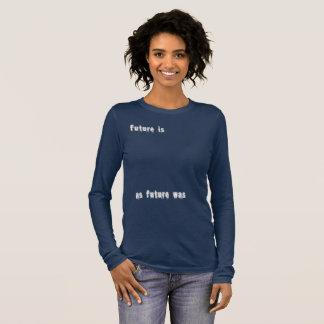 T-shirt futuriste - pièce en t philosophique de
