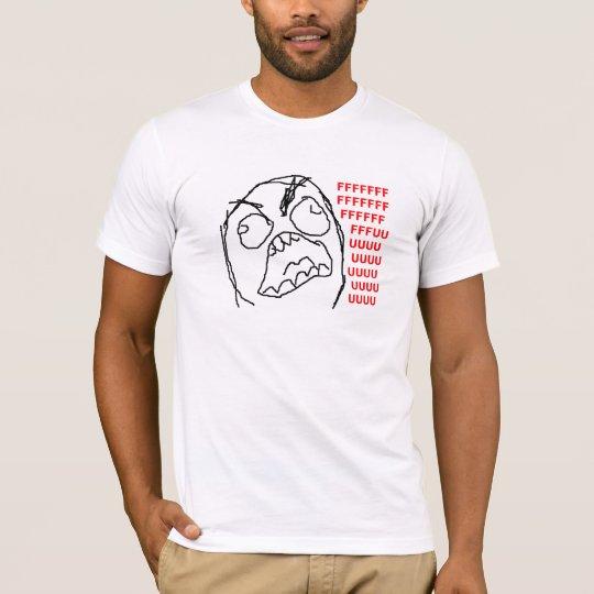 T-shirt Fuuuu TrollFace