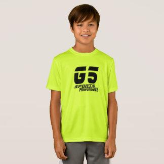 T-Shirt G5 folâtre la pièce en t de sports de la jeunesse