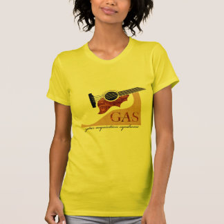 T-shirt G.A.S. Guitare acoustique