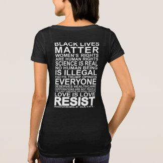 T-shirt Ga1st indivisibles résistent à la pièce en t