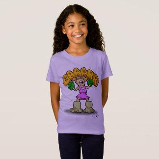 T-Shirt GAAARRR ! Fille de puissance
