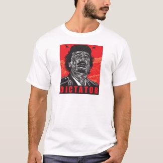 T-shirt Gaddafi - dictateur