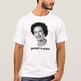 T-shirt Gaddafi est brut