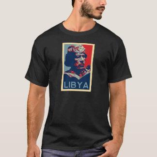 T-shirt Gaddafi - la Libye