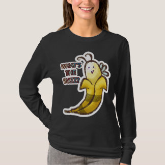 T-shirt Gaffez la banane ce qui est le bourdonnement
