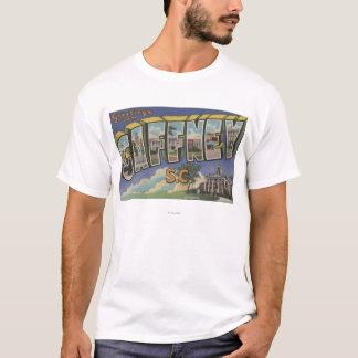 T-shirt Gaffney, la Caroline du Sud - grandes scènes de
