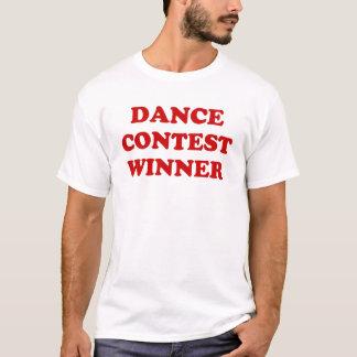 T-shirt Gagnant de concours de danse