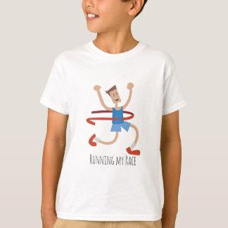 T-shirt Gagnant de course