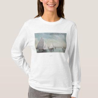 T-shirt Gagnant de tasse de Dunsmuir de trophée