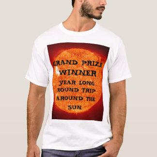 T-shirt Gagnant du prix grand