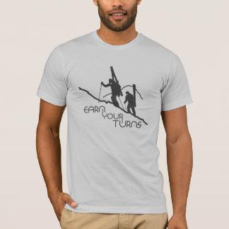 T-shirt Gagnez vos tours