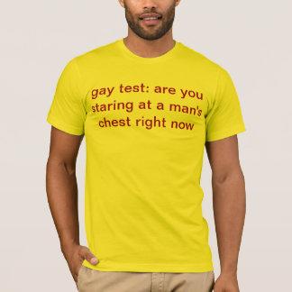 T-shirt gai d'essai