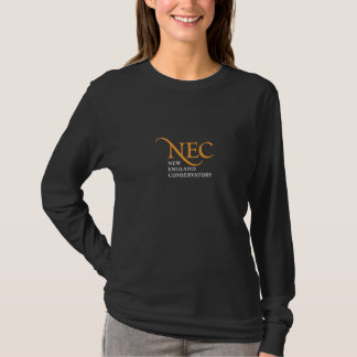 T-shirt gainé foncé de NEC long (femelle)
