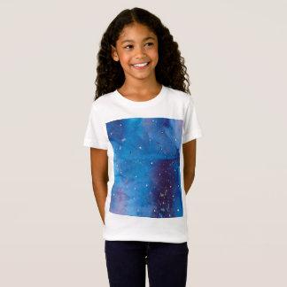 T-Shirt Galaxie bleu-foncé