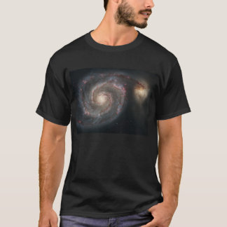 T-shirt Galaxie de tourbillon (M51) et galaxie de