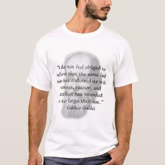 "T-shirt Galilée ""raison """