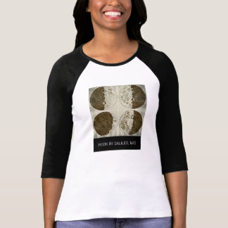 T-shirt Galileo black & white