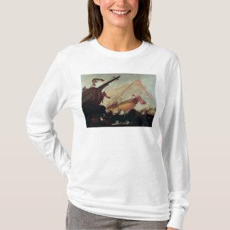 T-shirt Galions détruits sur un rivage rocheux