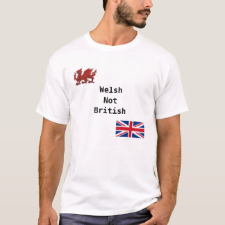 T-shirt Gallois non britannique