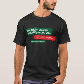 T-shirt Gallu de yn de ddim de Dw i