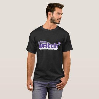 T-shirt Gamer de flamme que j'aime observer