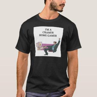 T-shirt gamer de maison de cramer de JIM