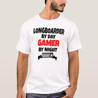 T-shirt Gamer Longboarder