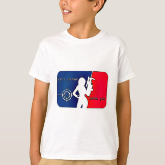 T-shirt Gamer Pwns de fille vous !