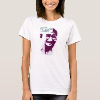 T-shirt Gandhi vous pouvez juger une société