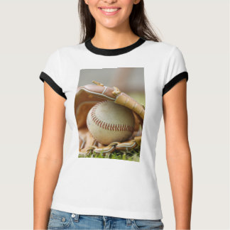 T-shirt Gant et boule de base-ball