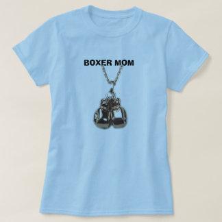 T-shirt gants de boxe, MAMAN de BOXEUR