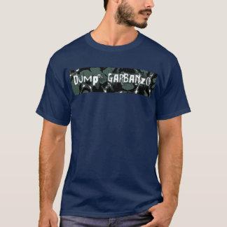 T-shirt garbano de décharge