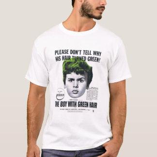 T-shirt - garçon avec les cheveux verts - 1948