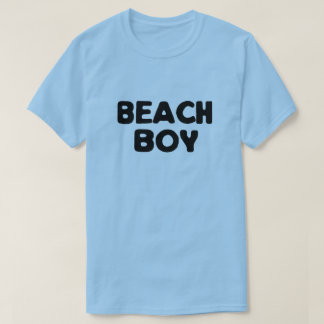 T-shirt Garçon de plage