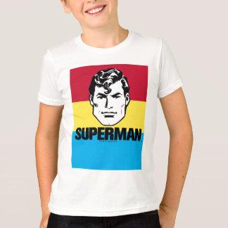 T-shirt Garçon de rayure - Superman